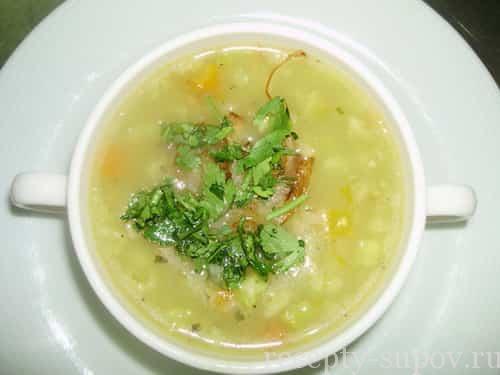 рецепт супа из баранины