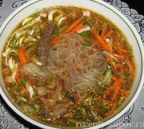рецепт корейского супа кукси