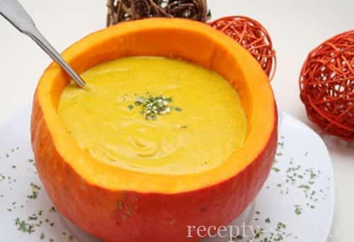 рецепт сладкий суп из тыквы