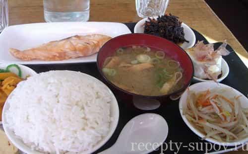 рецепт японского чай супа