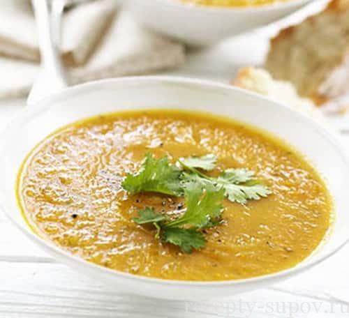 рецепт тайского морковного супа