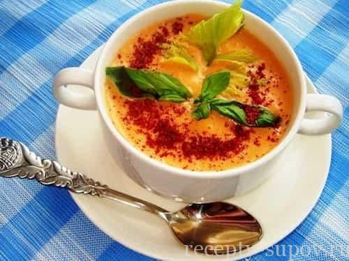 рецепт морковного крем-супа