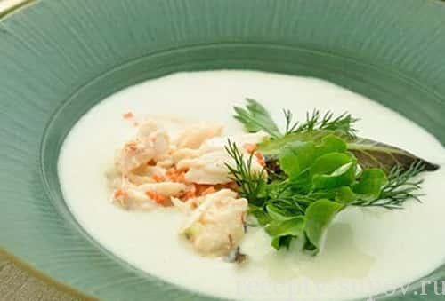 рецепт супа белый гаспачо
